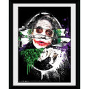 DC Comics Batman The Dark Knight Rises The Joker Torn - 8x6 Framed Photographic