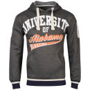 Soul Star Men's Alabama Hooded Sweat - Charcoal