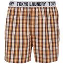 Tokyo Laundry Men's Jack Rabbit Woven Boxers - Orange
