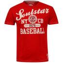 Soul Star Men's Beeball T-Shirt - Red