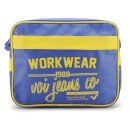 Voi Men's Worker Airliner Bag - Blazing Yellow/Cobalt