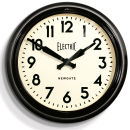 Giant Electric Clock - Black