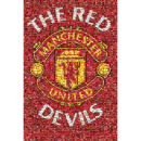 Manchester United Mosaic - Maxi Poster - 61 x 91.5cm