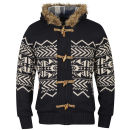 Tokyo Laundry Men's Saskatchewan Zip Through Knit - Dark Navy