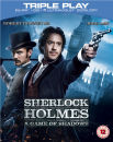 Sherlock Holmes: A Game of Shadows - Triple Play (Blu-Ray, DVD and Digital Copy)