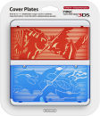 New 3DS Pokemon Omego Ruby & Omega Sapphire Cover Plate