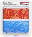 New 3DS Pokemon Omega Ruby & Omega Sapphire Cover Plate