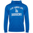 Majestic Men's LA Dodger Hooded Sweatshirt - Blue