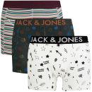Jack & Jones Men's Jake 3-Pack Boxers - Black