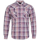 Soul Star Men's Pawn Long Sleeved Shirt - Purple