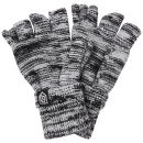 Smith & Jones Men's Erratica Twist Fingerless Gloves - Light Grey Mix - One Size