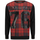 Soul Star Men's Kippling Number Sweatshirt - Red