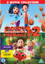 Cloudy con a Chance of Meatballs 1 y 2 (Incluye una copia ultravioleta)
