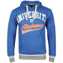 Soul Star Men's Alabama Hooded Sweat - Royal