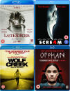 Horror Blu-Ray Bundle: Scream 4 / The Last Exorcism / Wolf Creek / Orphan