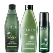 Redken Body Full Trio - Shampoo, Conditioner & Instant Bodifier