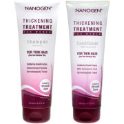 Nanogen Thickening Treatment Shampoo and Conditioner Bundle for Women