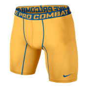 Nike Men's Core Compression 6 Inch Shorts 2.0 - Atomic Mango/Military Blue