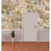 Neutral Map Giant Wall Mural