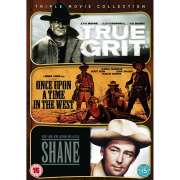 Westerns Triple: True Grit 1969 / Once Upon a Time in the West / Shane