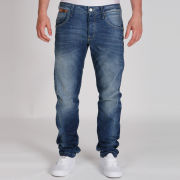 Jack & Jones Men's Nick Lab Dirty Age Jeans - Indigo