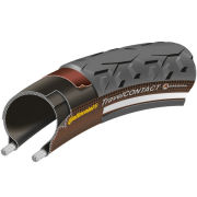 Continental Travel Contact Clincher Commuting Tyre Black 26in x 1.75in + FREE Inner Tube