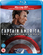 Captain America: The First Avenger 3D (Includes 2D Version)