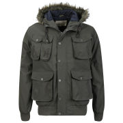 Brave Soul Men's Python Jacket - Racing Green
