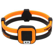 Trion:Z Duoloop Wristband - Black/Orange
