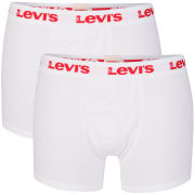 Levi's Men's Ethan 2-Pack Boxers - White