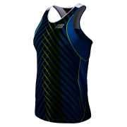 New Balance Men's NBX Excel Race Singlet - Laser Blue/Yellow
