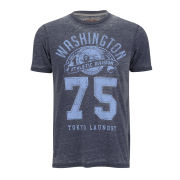 Tokyo Laundry Men's Washington T-Shirt - Slate Blue