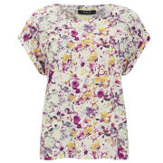 VILA Women's Filoa Floral Top - Multi