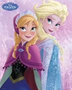 Disney Frozen Sisters - Mini Poster - 40 x 50cm