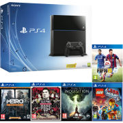 Sony PlayStation 4 500GB Console - Includes Family Bundle