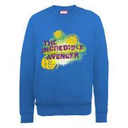 Marvel Avengers Assemble Hulk IncRedible Avenger Men's Sweatshirt - Royal Blue