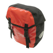 Outeredge Waterproof Pannier Bag - Small - Red