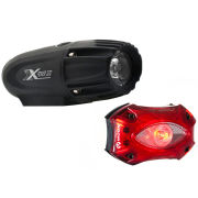 Moon XP300 Front & Shield Rear Set USB Light Set