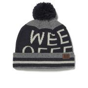 Weekend Offender Men's Logo Bobble Hat - Grey/Navy