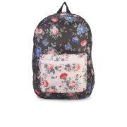 Herschel Packable Daypack Backpack - Black Floral