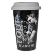Divergent Four Tattoo Travel Mug