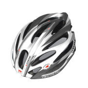 Ranking Feather Cycle Helmet - Grey/White/Green