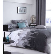 Catherine Lansfield City Scape Bedding Set - Multi