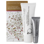 Elemental Herbology Pure Essentials Hand Cream and Lip Balm Duo