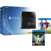 Sony PlayStation 4 500GB Console - Includes Dragon Age: Inquisition + FIFA 15