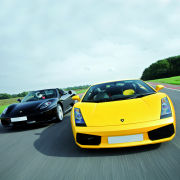 Double Supercar Driving Thrill with Passenger Ride