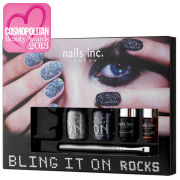 nails inc. Bling It On Rocks Collection