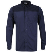 Boxfresh Men's Cobbert Patch Shirt - Navy
