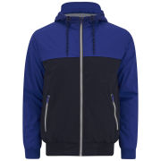 Brave Soul Men's Parakeet Jacket - Blue/Navy