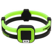 Trion:Z Duoloop Wristband - Black/Lime